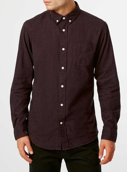 Burgundy Shirt by Selected Homme in Modern Family