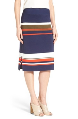 Side Slit Knit Pencil Skirt by Halogen in Fuller House