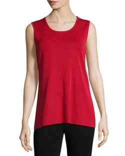 Round Neck Sleeveless Tank Top by Misook in Brooklyn Nine-Nine