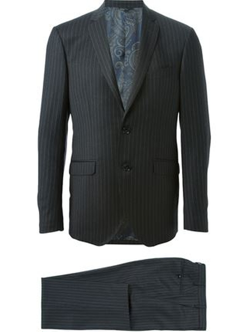 Pin Stripe Suit by Etro in Suits