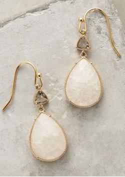 Aufeis Drop Earrings by Anthropologie in Arrow