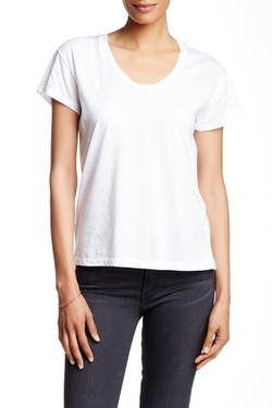 Roadtrip Scoop Neck Tee  by Alternative  in New Girl