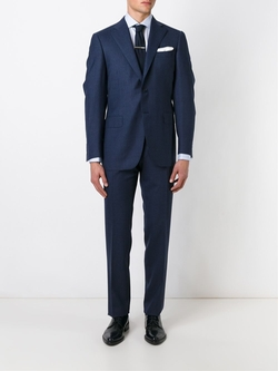 Houndstooth Two Piece Suit by Canali in Suits