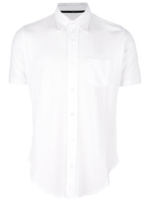 button down short sleeve shirt by ZANONE in Jersey Boys