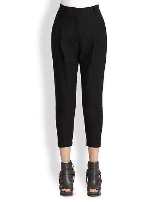 High-Waist Pants by Brunello Cucinelli in Begin Again