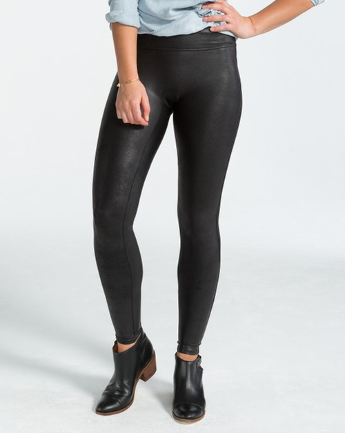 Faux Leather Leggings by Spanx in Jem and the Holograms