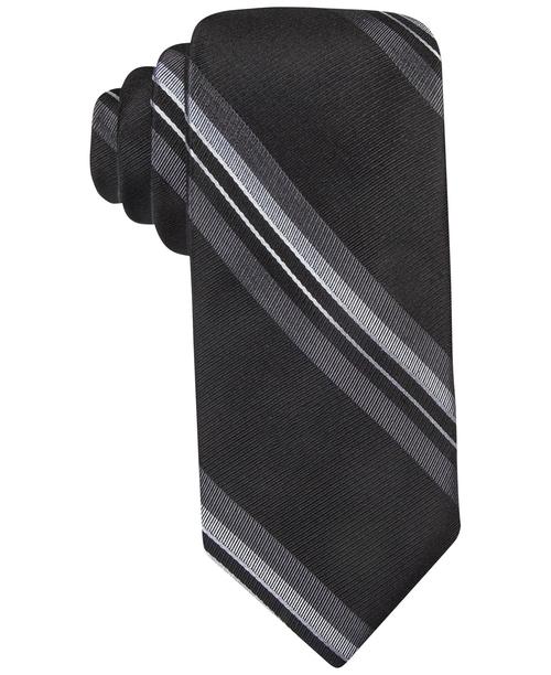 Stripe Slim Tie by Ryan Seacrest in Supergirl - Season 1 Episode 9