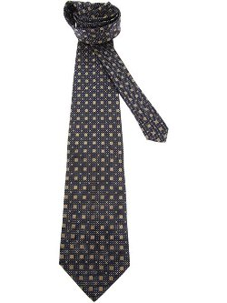 Patterned Tie by Gianfranco Ferre Vintage in The Secret Life of Walter Mitty