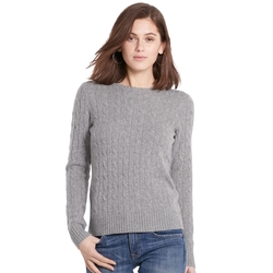 Slim Cable Cashmere Sweater by Ralph Lauren in Fifty Shades Darker