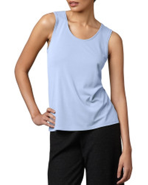 Silk Jersey Tank Top by Eileen Fisher in Pretty Little Liars - Season 7 Episode 9