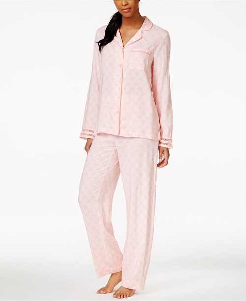 Geo-Print Pajama Set by Charter Club in New Girl - Season 5 Episode 10