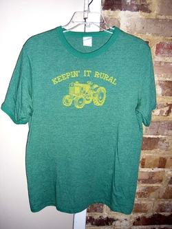 Keeping It Rural Tee Shirt by Utility in Knocked Up