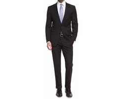 Genius Slim-Fit Basic Suit by Boss Hugo Boss in Keeping Up with the Joneses