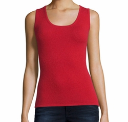 Scoop-Neck Cashmere Tank Top by Neiman Marcus Cashmere Collection in The Fate of the Furious