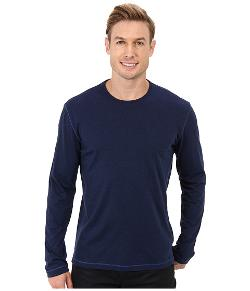 Riftstone L/S Knit T-Shirt by Robert Graham in Contraband
