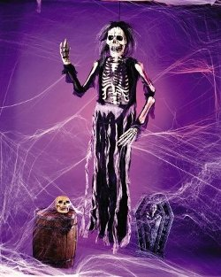 Skeleton Zombie Halloween Decoration by Fun World Costumes in If I Stay