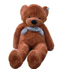 Giant Huge 63'' Teddy Bear Dark Brown Stuffed Plush Animal Toy by Joyfay in And So It Goes