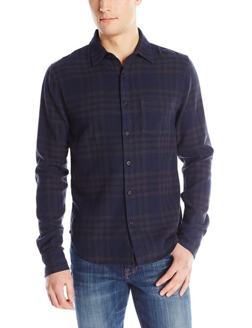 Men's Plaid Woven Shirt by Joe's Jeans in Paper Towns