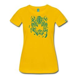 Women's Tiger T-Shirt by Spreadshirt in Couple's Retreat