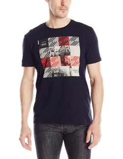 London Squares Graphic T-Shirt by Ben Sherman in The Big Bang Theory