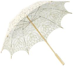 Battenburg Lace Parasol Umbrella by Koyal Wholesale in Vampire Academy