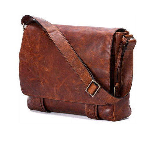 Logan Men's Messenger Bag by Frye in Collateral Beauty