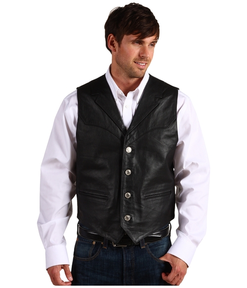 Nappa Notch Collar Vest by Roper in The Hateful Eight