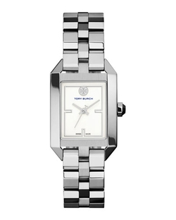 Dalloway Silvertone Bracelet Strap Watch by Tory Burch Watches in Pretty Little Liars
