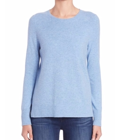 Cashmere Crewneck Sweater by Saks Fifth Avenue Collection in Supergirl