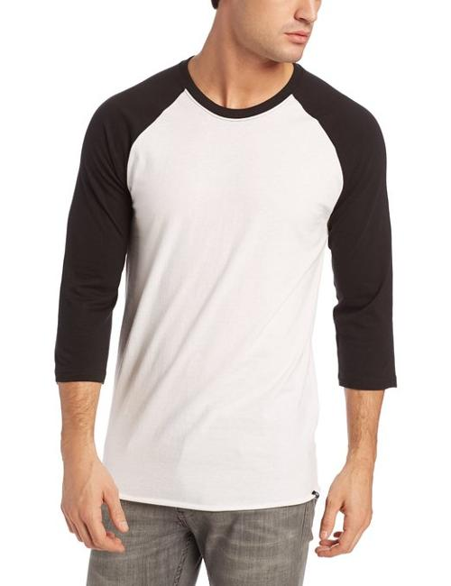 Men's Staple 3/4 Raglan T-Shirt by Hurley in Neighbors