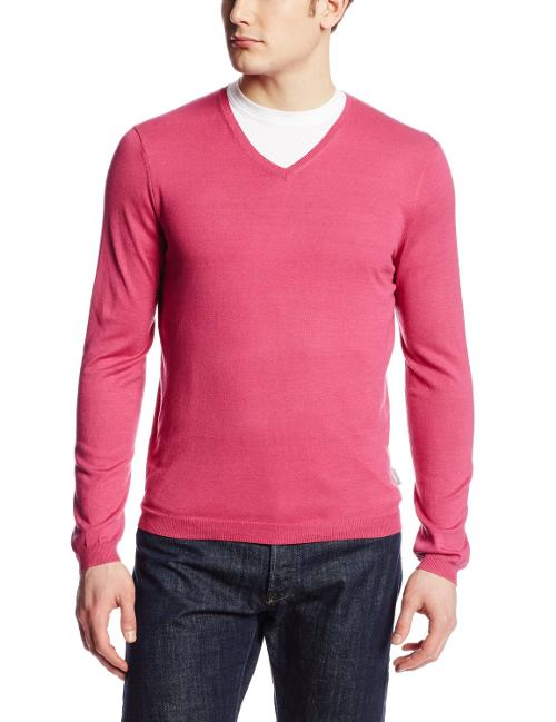 Sportswear Men's Jersey V-Neck Sweater by Calvin Klein in Kingsman: The Secret Service