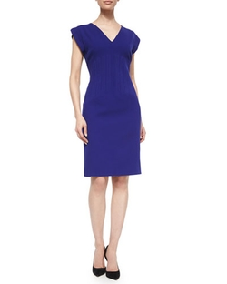 Vertical Seam Sheath Dress by Escada in Scandal
