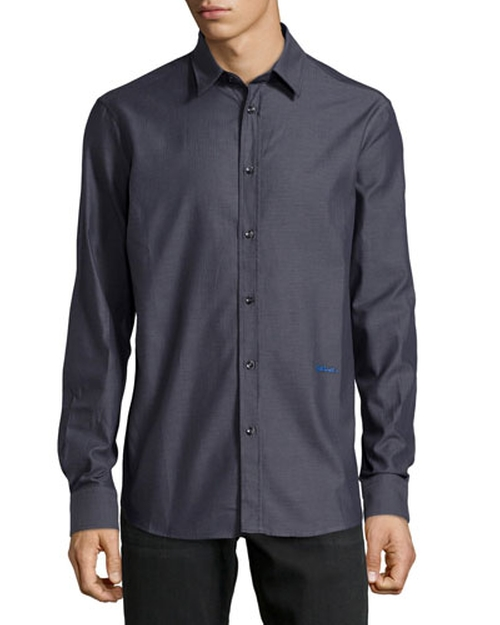Long-Sleeve Dress Shirt by Just Cavalli in The Martian