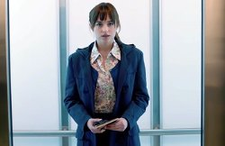 Custom Made London Liberty Floral Shirt by Mark Bridges (Costume Designer) in Fifty Shades of Grey