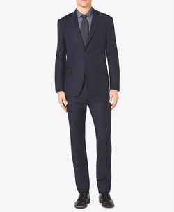 Slim-Fit Two-Button Wool Suit by Michael Kors in New Girl