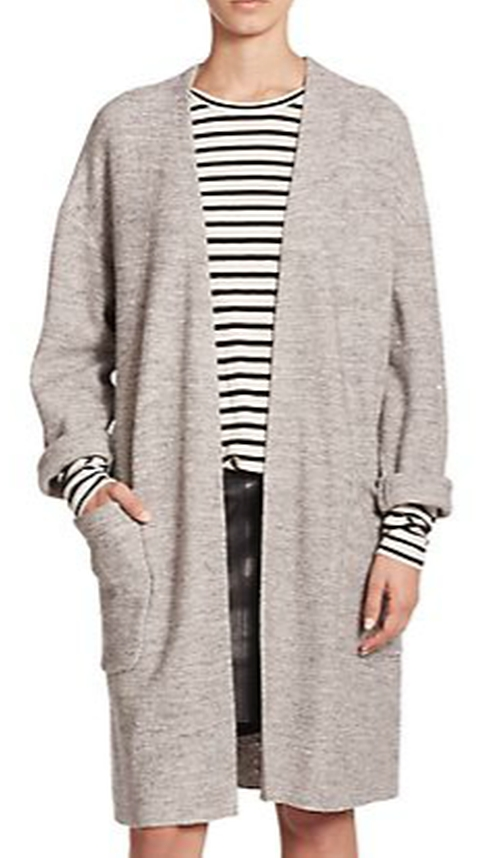 Long Knit Cardigan by Set in Keeping Up With The Kardashians