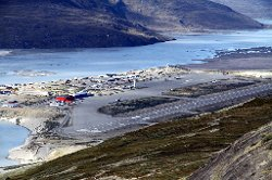Qeqqata, Greenland by Kangerlussuaq Airport in The Secret Life of Walter Mitty