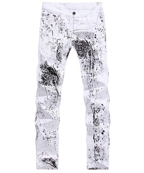 Personality Printed Pants by Nine Town in Love Actually