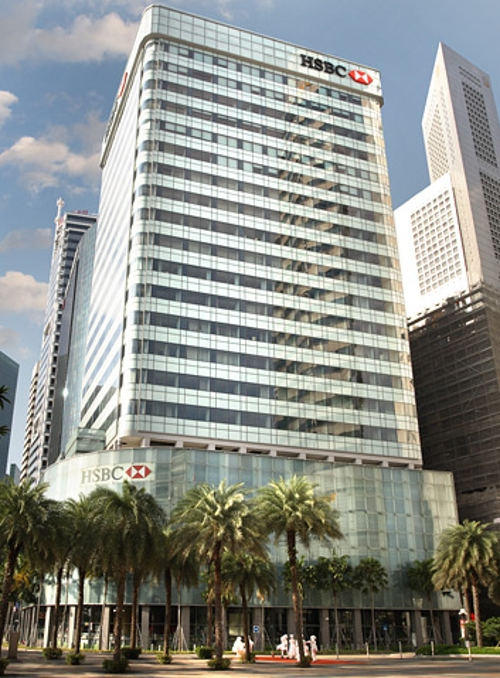 HSBC Building Singapore in Hitman: Agent 47