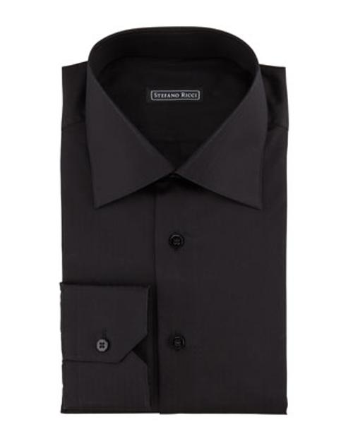 Textured Dot-Stripe Dress Shirt by Stefano Ricci in Frank Miller's Sin City: A Dame To Kill For