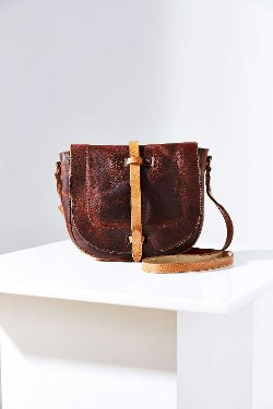 Crossbody Saddle Bag by Will Leather Goods in The Secret Life of Walter Mitty