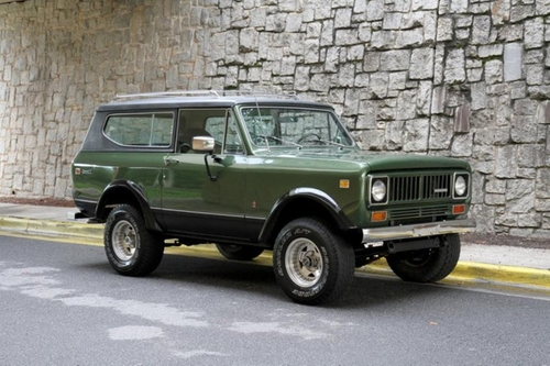 1972 Scout II SUV by International in Animal Kingdom