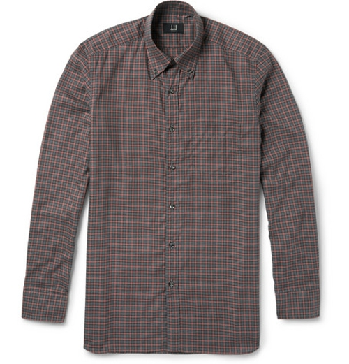 Billy Check Cotton Shirt by Dunhill in Thor: The Dark World