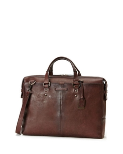 Ben Artisan Leather Briefcase by Frye in Billions