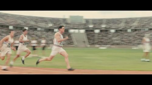 Custom Made Track Shorts by Louise Frogley (Costume Designer) in Unbroken