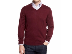 Cashmere-Silk V-Neck Sweater by Neiman Marcus in The Flash
