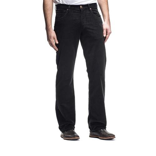 Gringo Italian Denim Weave Cord Flex Pants by Agave Denim in Mortdecai