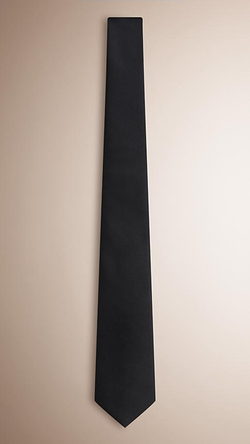 Modern Cut Silk Tie by Burberry in Joy