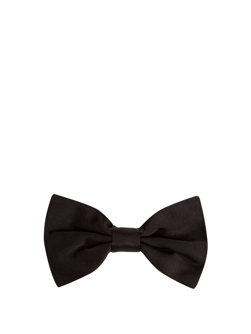 Silk Bow Tie by Dolce & Gabbana in Blow