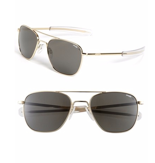 Aviator Sunglasses by Randolph Engineering in Keeping Up With The Kardashians - Season 12 Episode 5